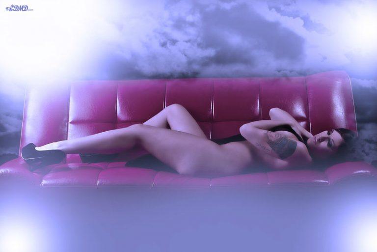 sesion boudoir en estudio pontevedra
