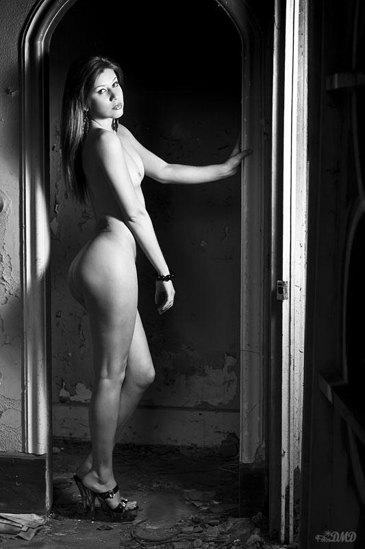 desnudo en exterior