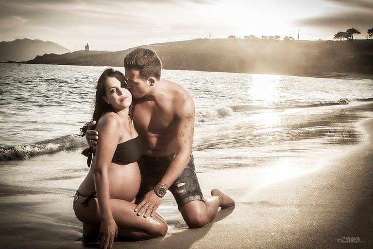 fotografia de parejas embarazo