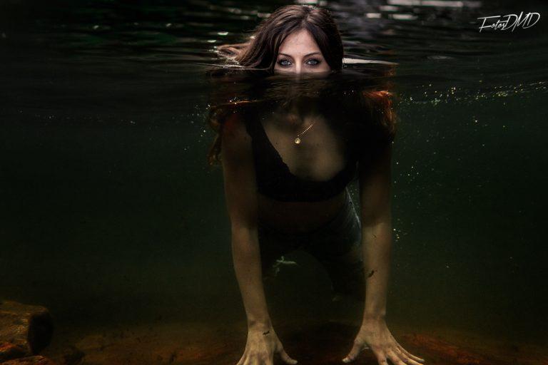 Sesion de fotos debajo del agua